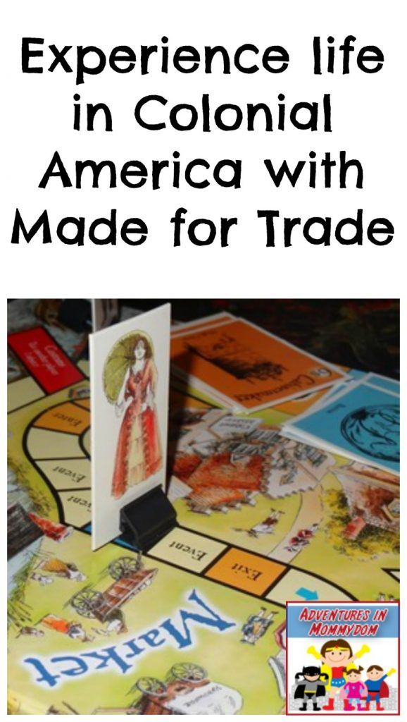 Experience life in Colonial America with Made for Trade