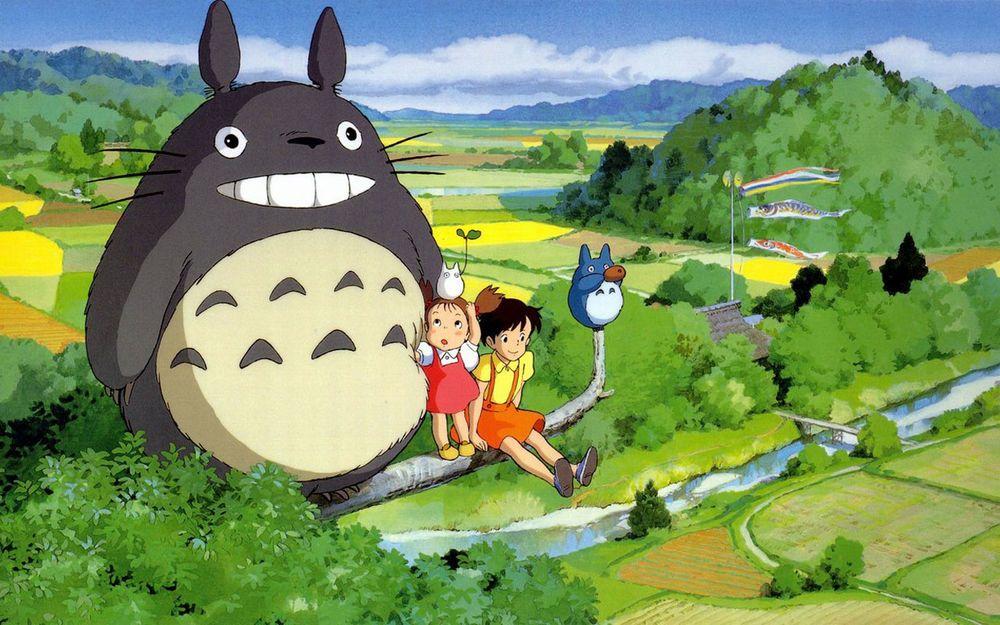 画像 となりのトトロ 無料pcデスクトップ壁紙 画像集 ジブリ 高画質 Naver まとめ Studio Ghibli Characters Ghibli Movies My Neighbor Totoro