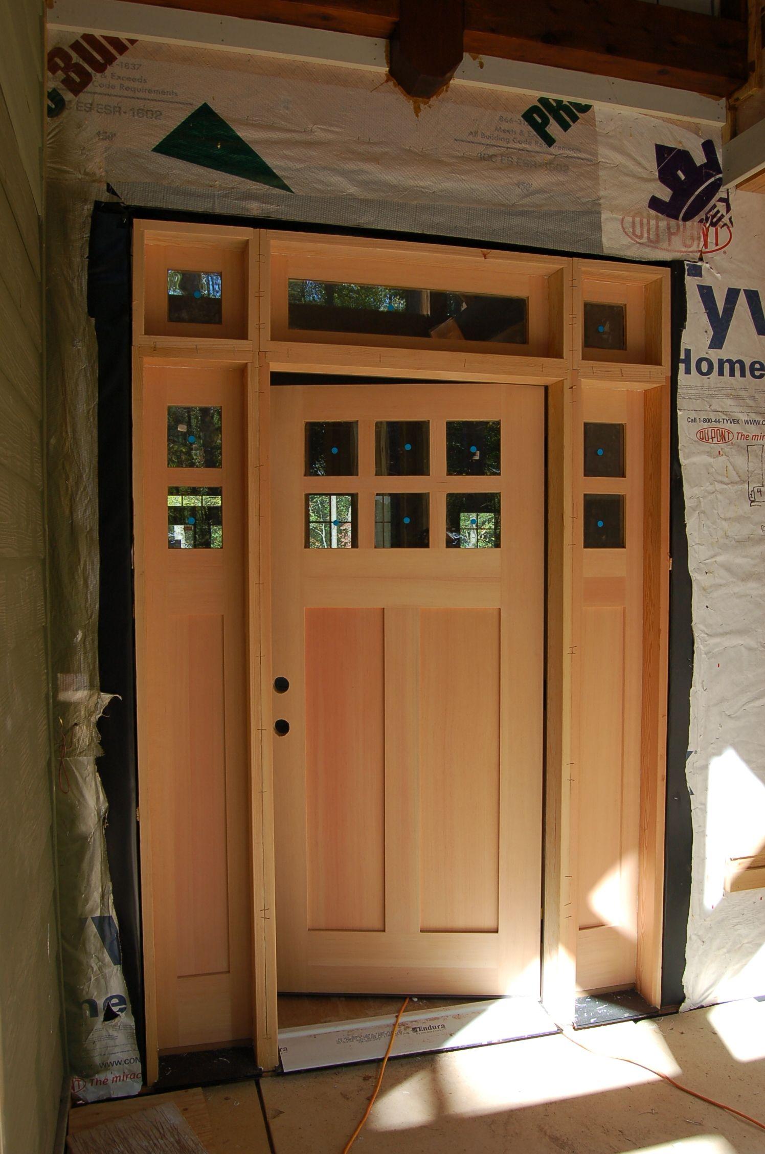 Cedar Exterior Door Extraordinary Cedar Exterior Door Trim  Httpthefallguyediting Design Inspiration