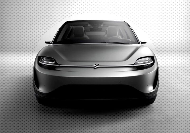 Sony shows off Vision-S electric car driving Sonys idea of the future of connected cars -