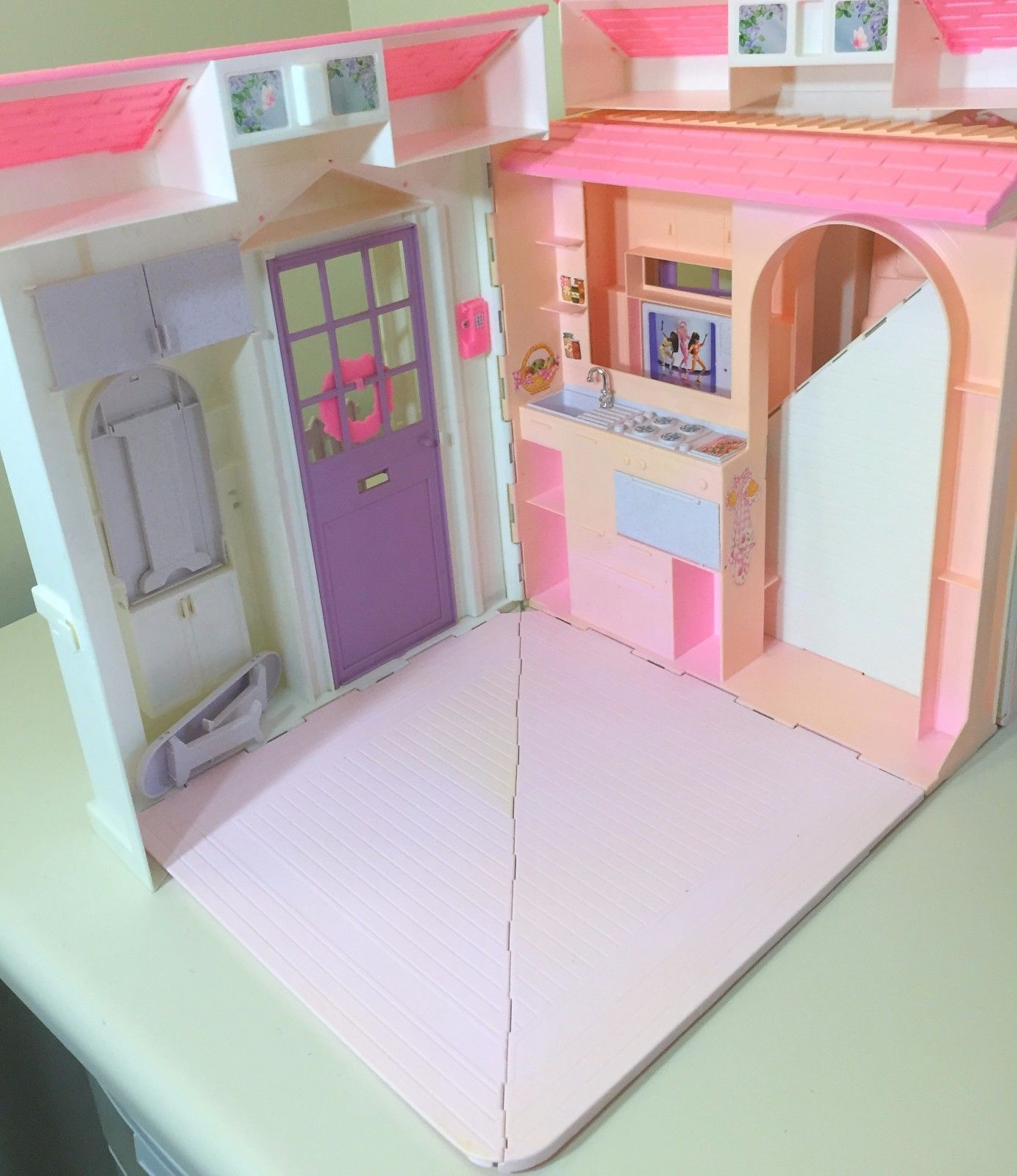 Dreams House Furniture: Mattel Barbie 2006 3 Story Dream House Playset J0505 VGUC