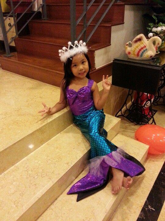 Little mermaid costume diy  sc 1 st  Pinterest & Little mermaid costume diy | Costumes | Pinterest | Mermaid ...