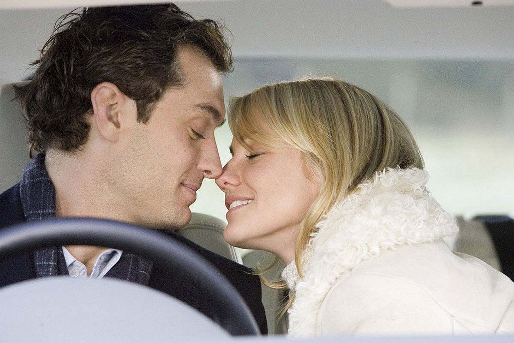 With Graham (Jude Law) and Amanda (Cameron Diaz), it's love at first sight.                  Image Source: ...