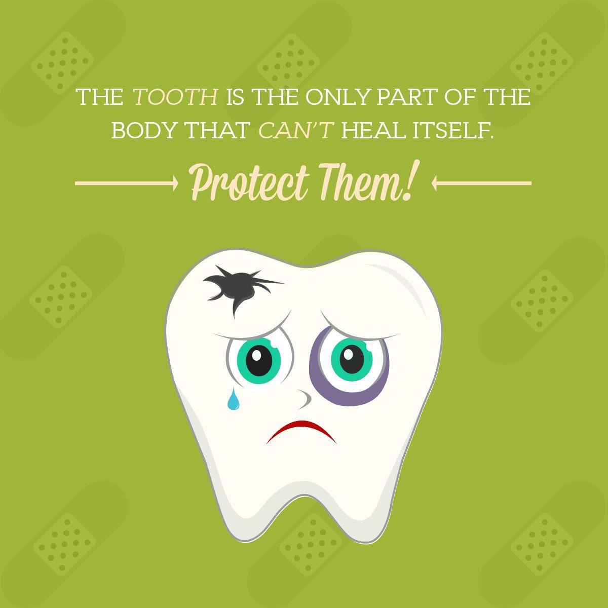 Teeth Amazingly Strong 't Repair