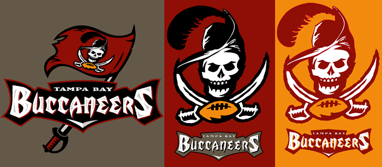 Buccaneers Old Logo Bucs Old And New Logo Mashup Concepts Chris Creamer S Old Logo Logos Old And New