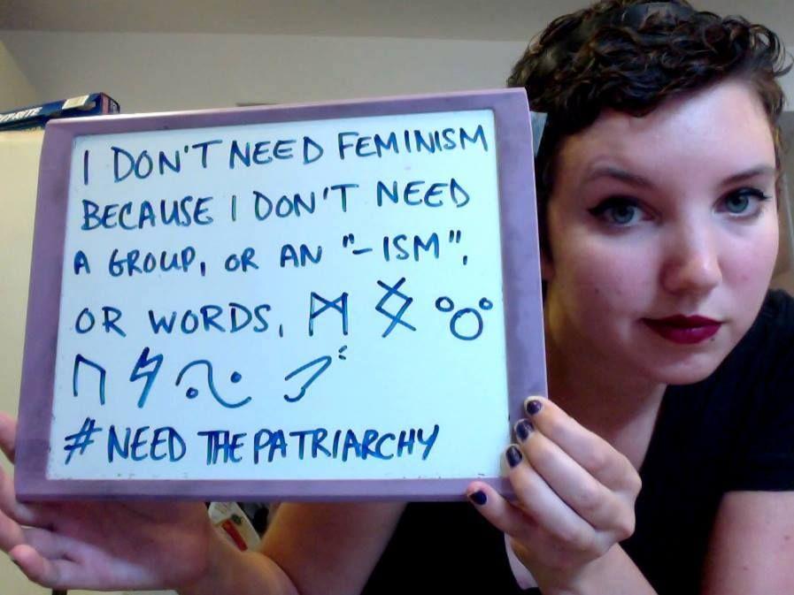 #needthepatriarchy
