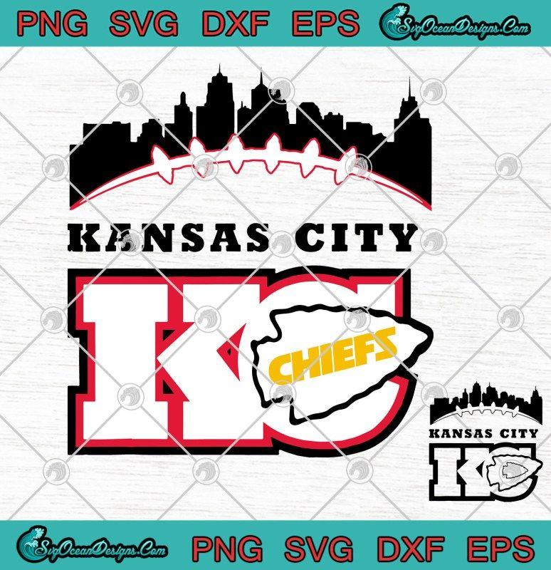 Kansas City Chief logo SVG PNG Kansas City Football Fans