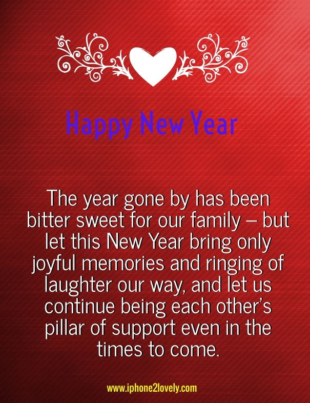 Cute new year wishes for family happy new year pinterest new year greeting messages m4hsunfo