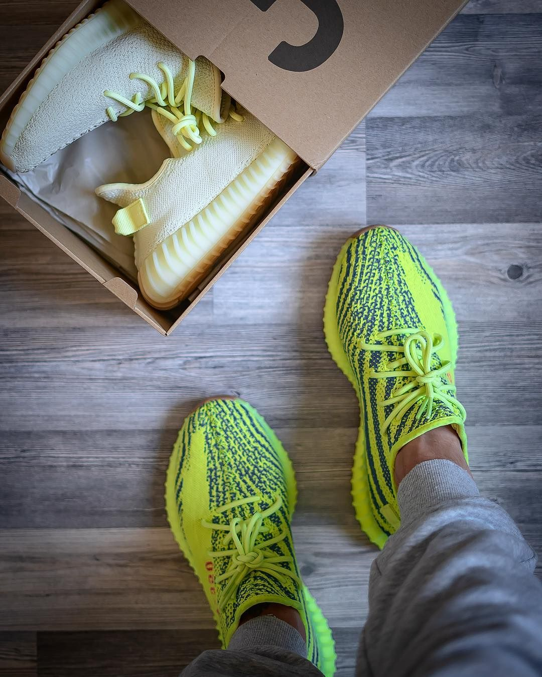 adidas yeezy boost 350 v2 yellow ice