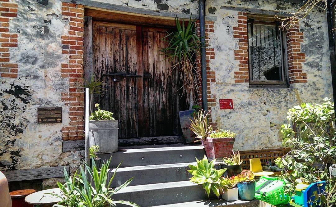 sirkony_ \ Weathered Door Taken in Cafe in Fremantle & sirkony_: \