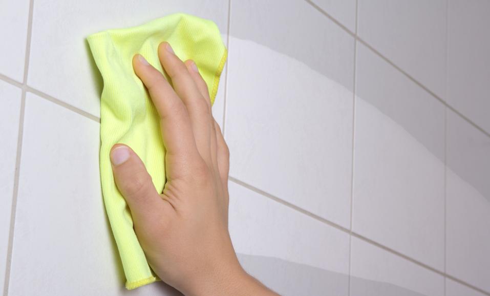 badkamer voegen schoonmaken