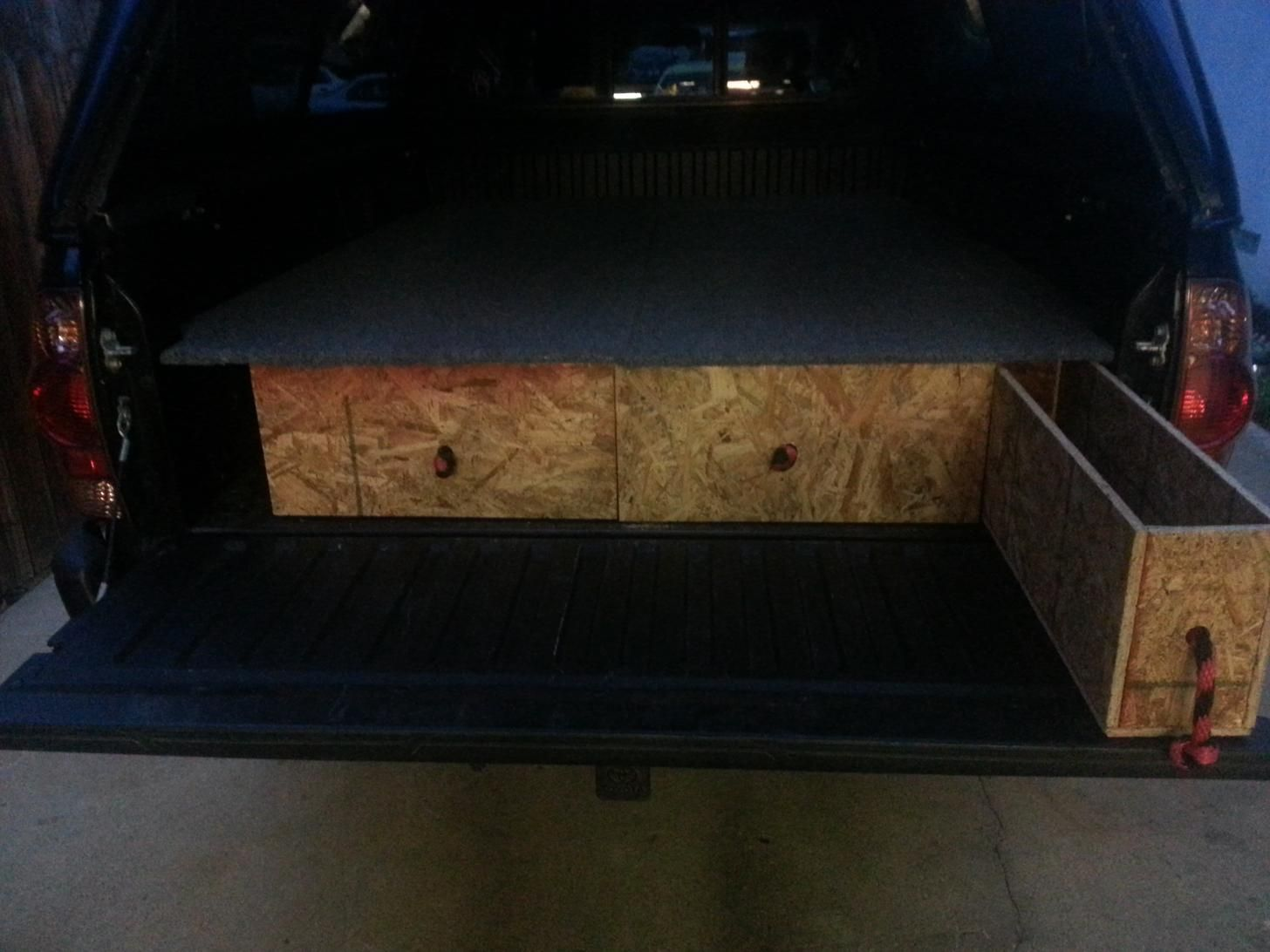 Truck Bed RV Phase I in 2020 Truck bed, Truck bed