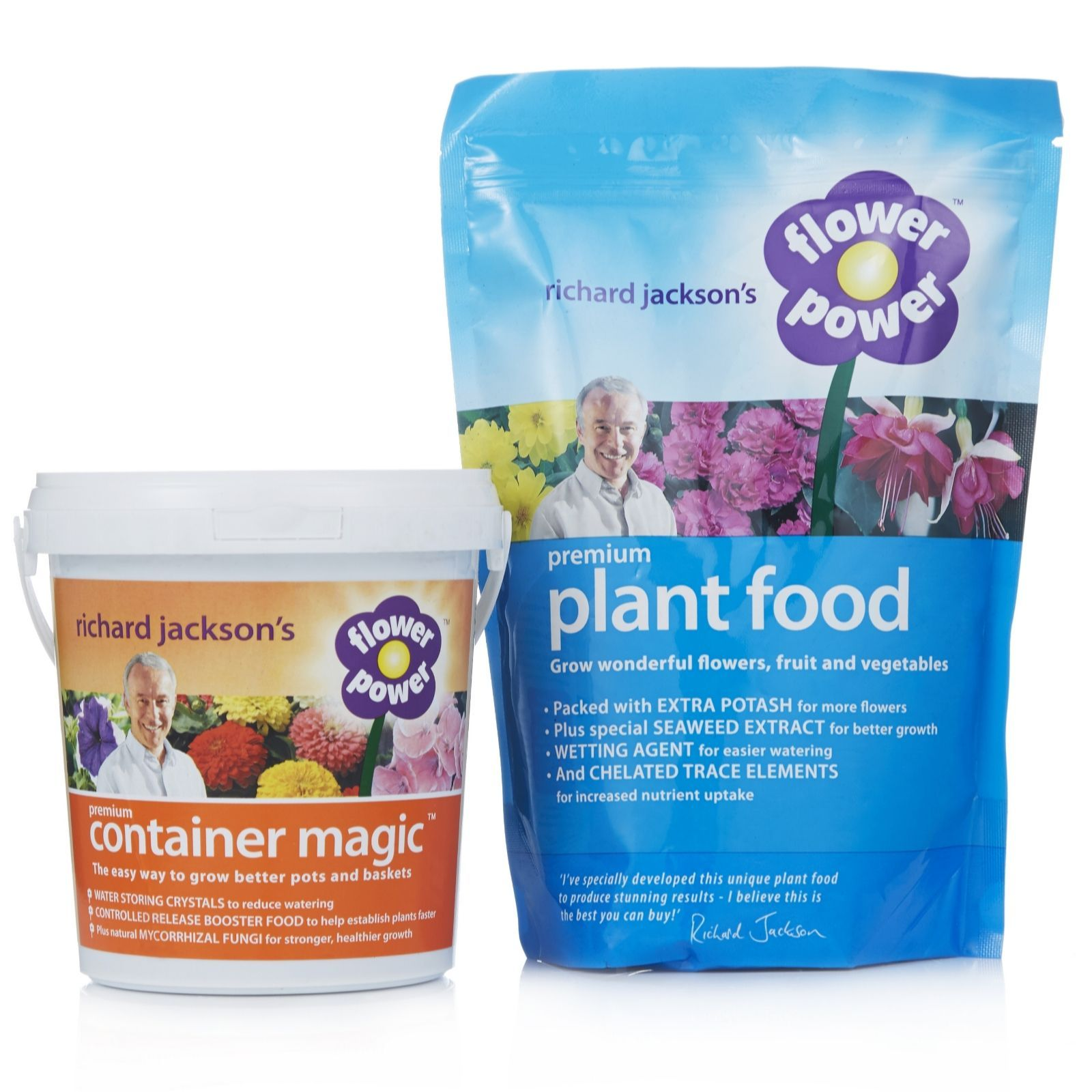 Good A Duo Of Richard Jacksonu0027s Flower Power And Container Magic. Create A  Blooming And Prosperous