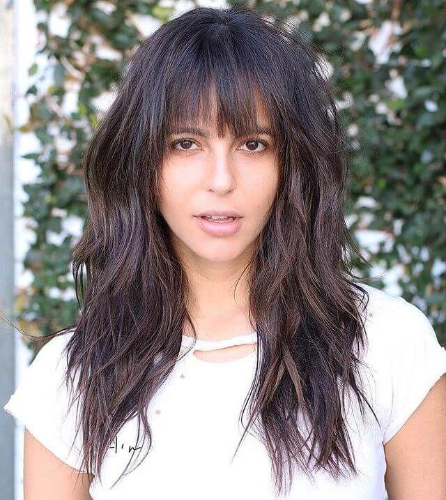 50 Fun Fresh Ways To Style Long Hair With Bangs Long Hair With Bangs Long Hair Styles Hairstyles With Bangs