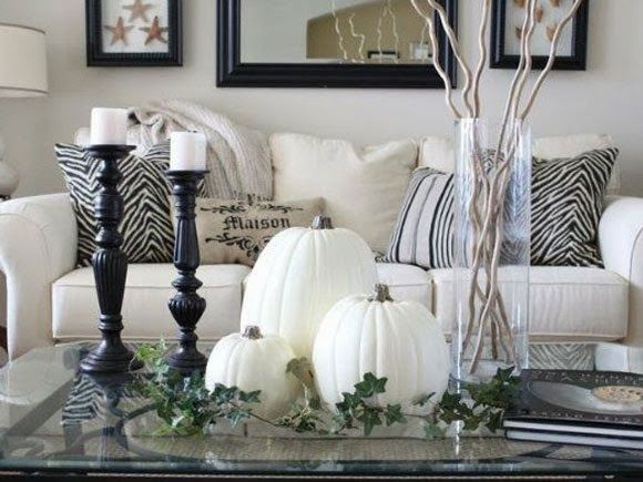 Herfst in huis holidays decoration decorating and