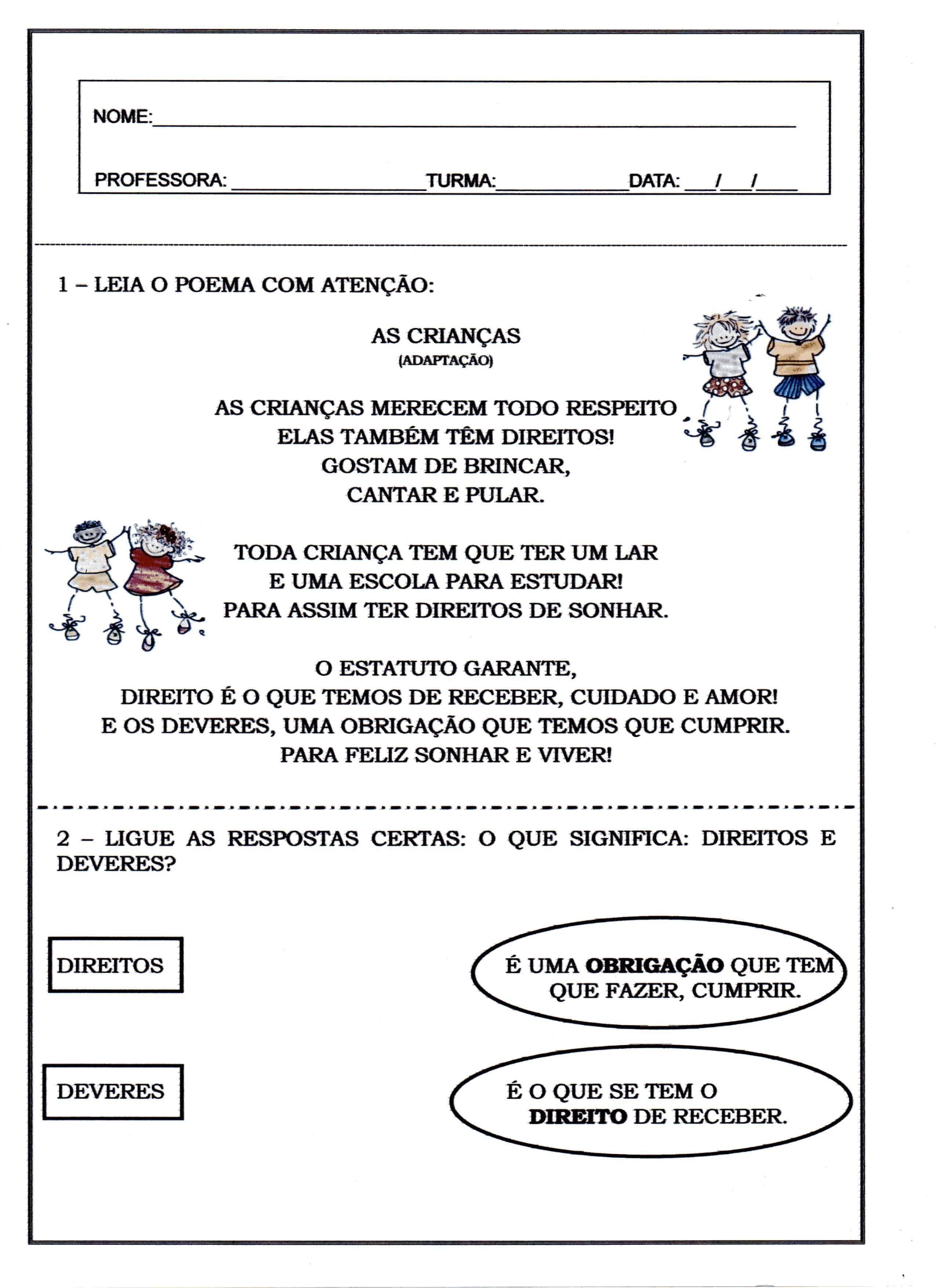 Pin De Edilza Silva Em Direitos E Deveres Direitos Das Criancas