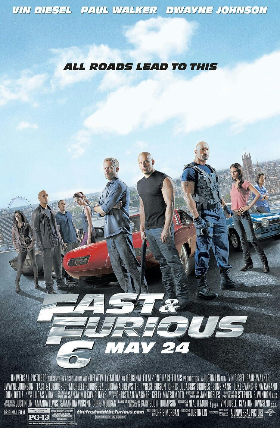 fast and furious 6 free stream