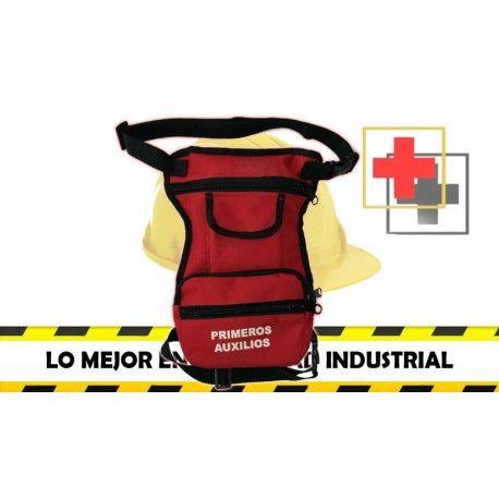 Botiqun en lona para brigadista Botiqun piernera Botiqun de primeros auxilios seguridadindustrialcolombia seguridadindustr  Primeros