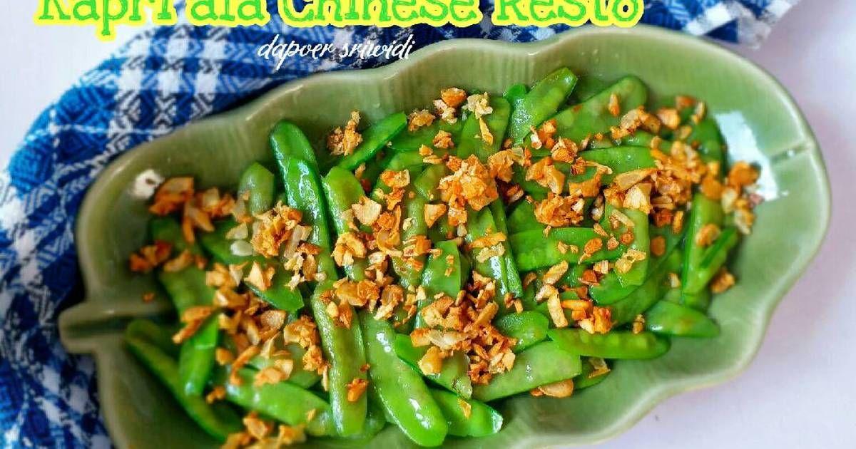 Resep Kapri Ala Chinese Resto Oleh Dapoer Sriwidi Resep Kacang Hijau Resep Makanan Tumis