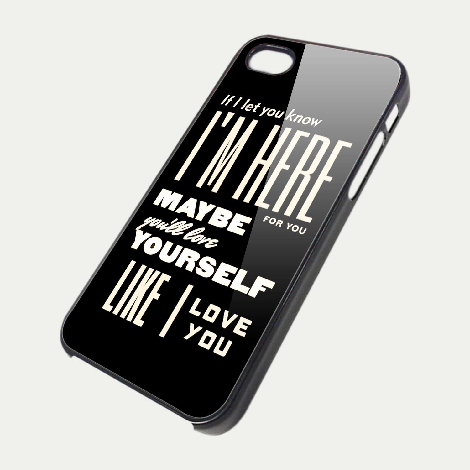 one direction quote tm00 iphone 5 case iphone 4 4s. Black Bedroom Furniture Sets. Home Design Ideas