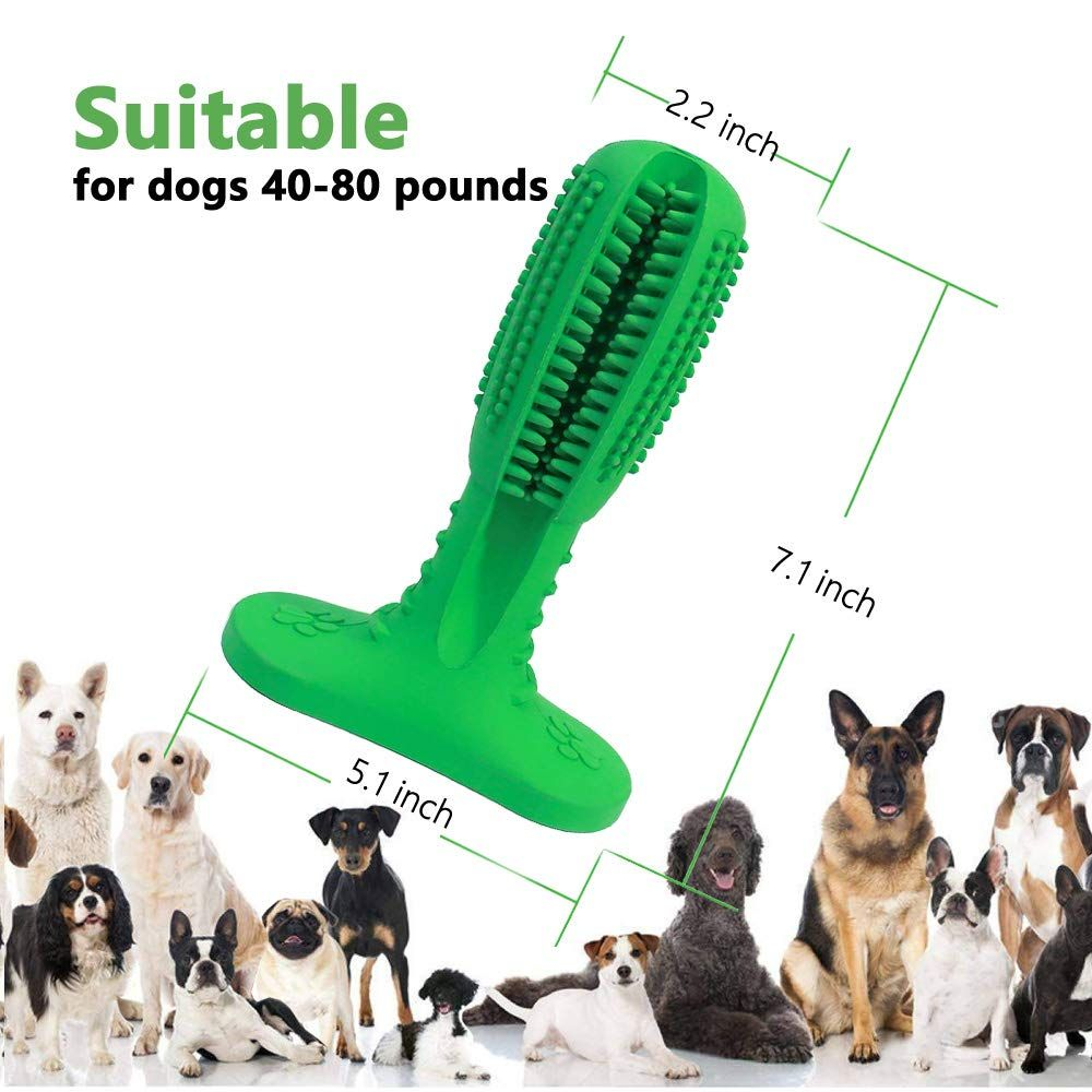Jobnice Dog Tooth Cleaning Dog Dental Stick Dog Toothbrush