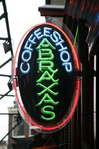 Abraxas Cafe Great Coffee Atmosphere Amsterdam Memories