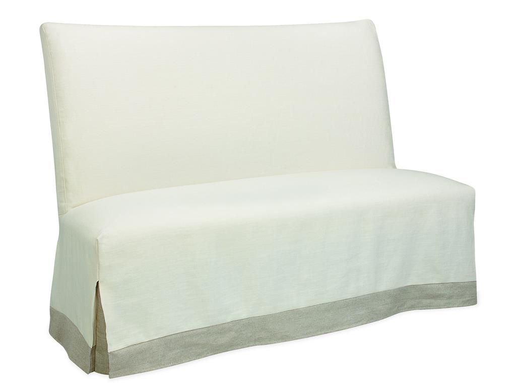 Lee Industries Dining Room Slipcovered Bench
