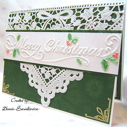 Love the use of the embossing folder strip