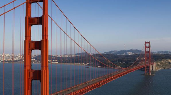 California, Golden Gate Bridge  Been once in the late 60's hope to be going again next year!