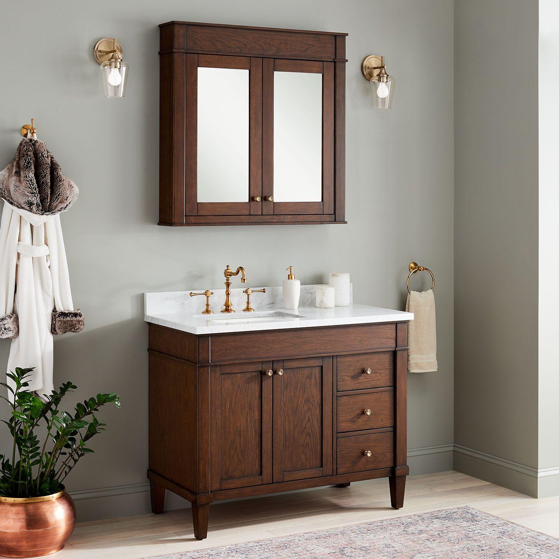 42 Inch Adelina Vintage French Bathroom Vanity French Vintage Bathroom French Bathroom Bathroom Sink Vanity