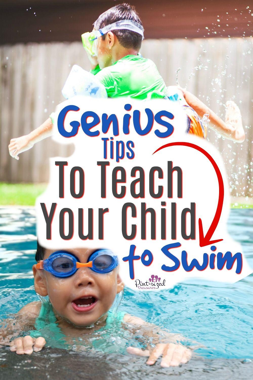 How To Teach The Scared Child To Swim Pint Sized Treasures Teach Kids To Swim Smart Parenting Teaching Kids