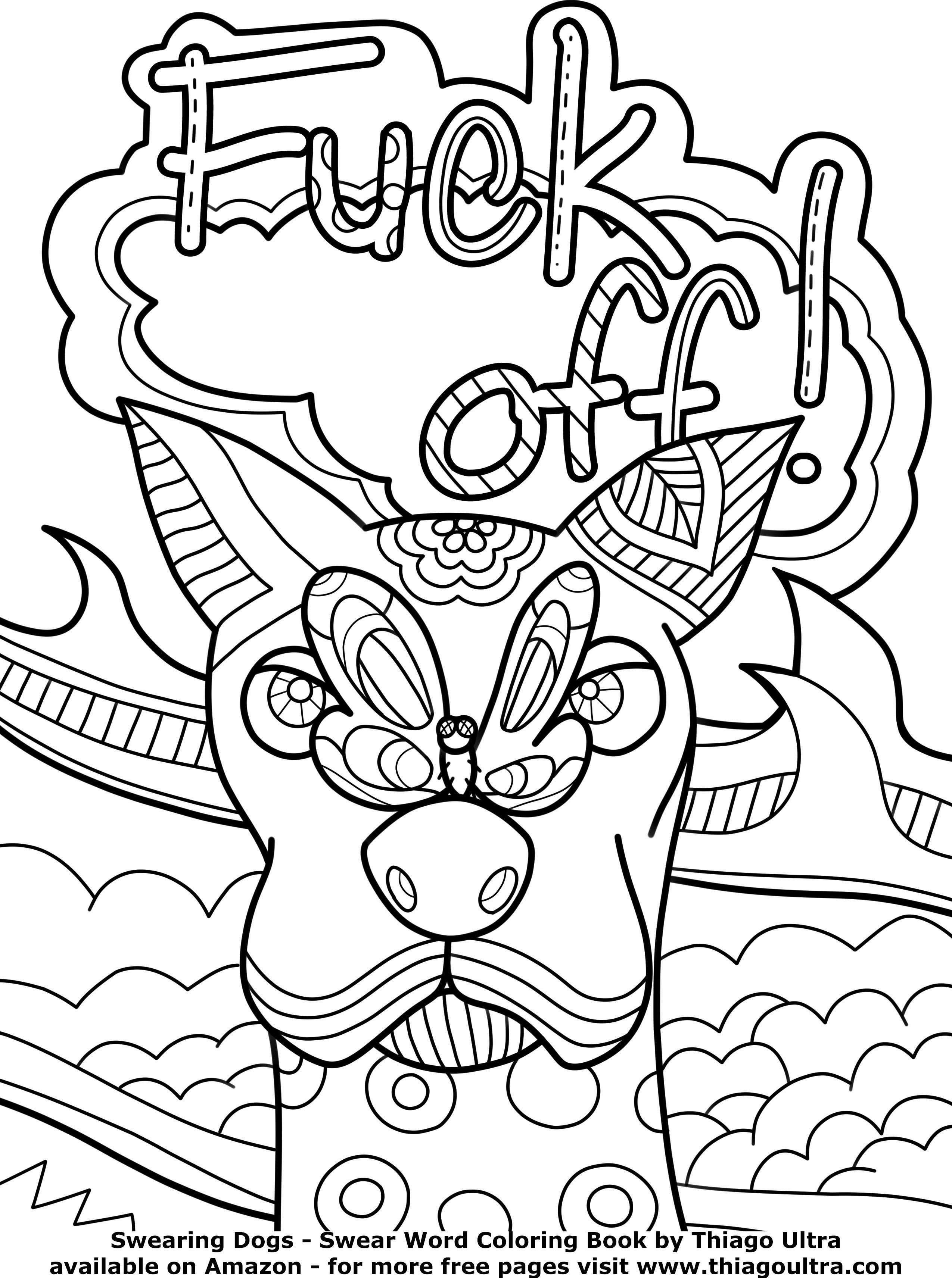 - Adult Cursing Coloring Book Unique 10 Best Images About Swearing