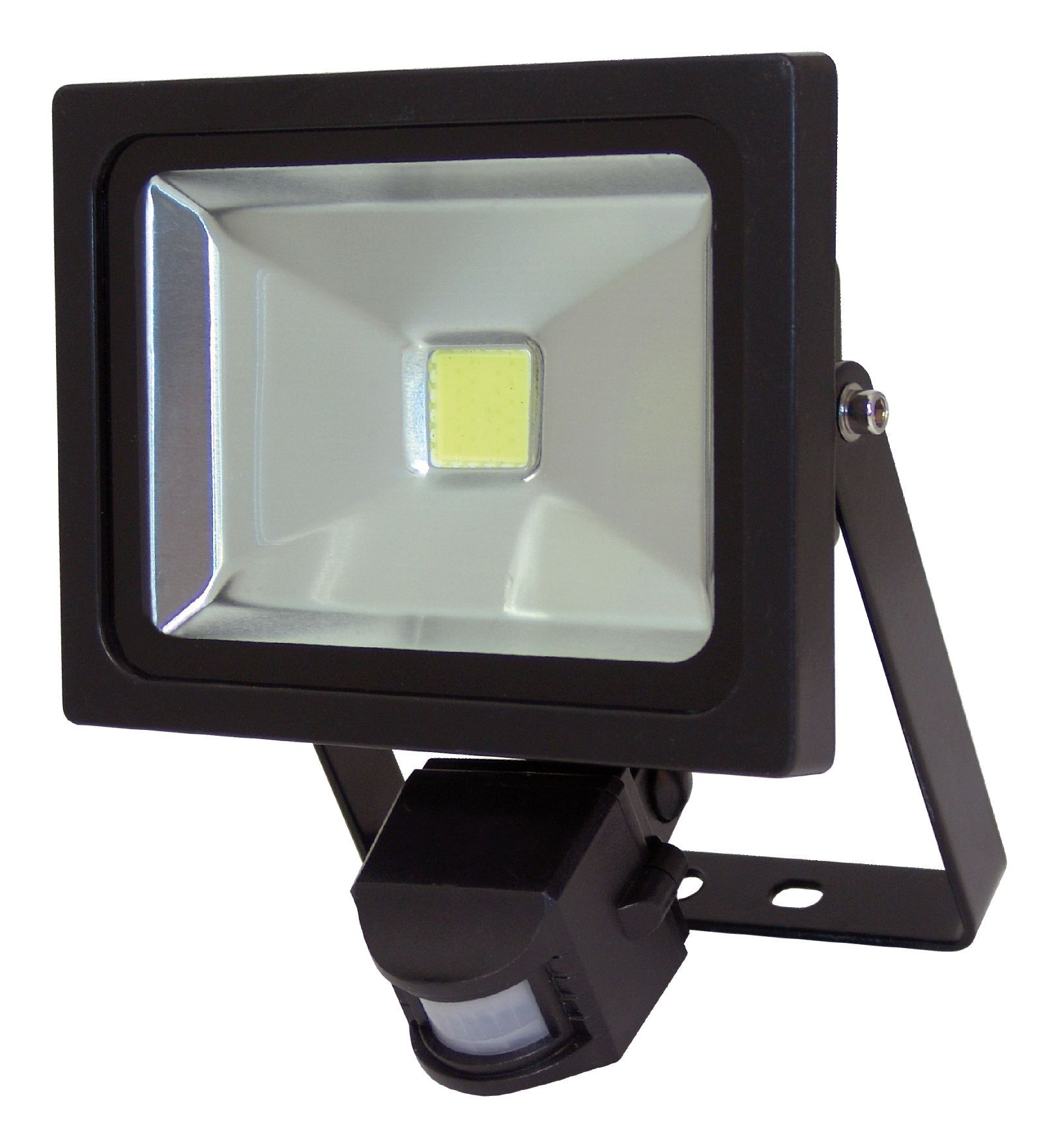 Outdoor Security Lights B Q: XQ-Lite 20W Mains Powered PIR Floodlight