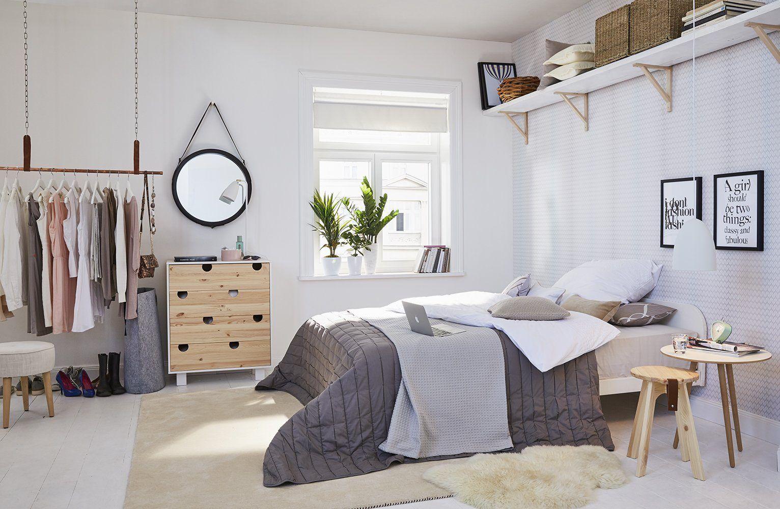 Wunderschönes Schlafzimmer Im Skandinavischen Stil Otto