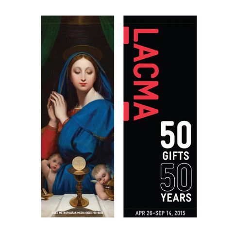 LACMA Store - Ingres Virgin with Host Street Banner