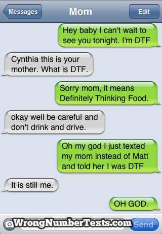 What does dtf mean when texting