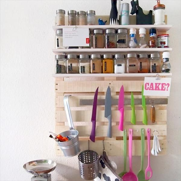Keuken houten wandrek diy wood shelves pallet kitchen keuken houten wandrek diy wood shelves pallet kitchen solutioingenieria Images