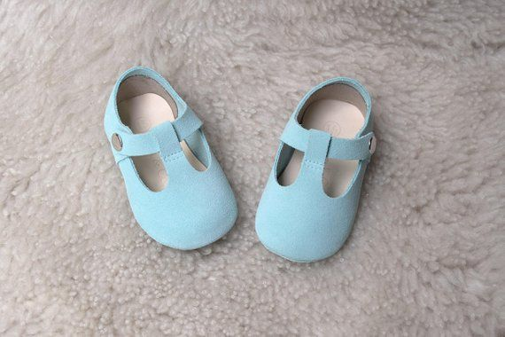 3390f09f06f Light Blue Baby Shoes size 2 US