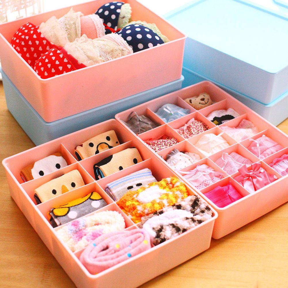 Underwear Storage Box Storage Boxes Bra Socks Dividers Clothes Organiser
