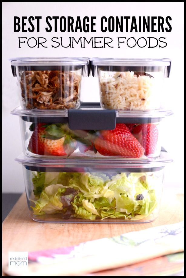 The Best Storage Containers For Summer Foods And Giveaway Stay
