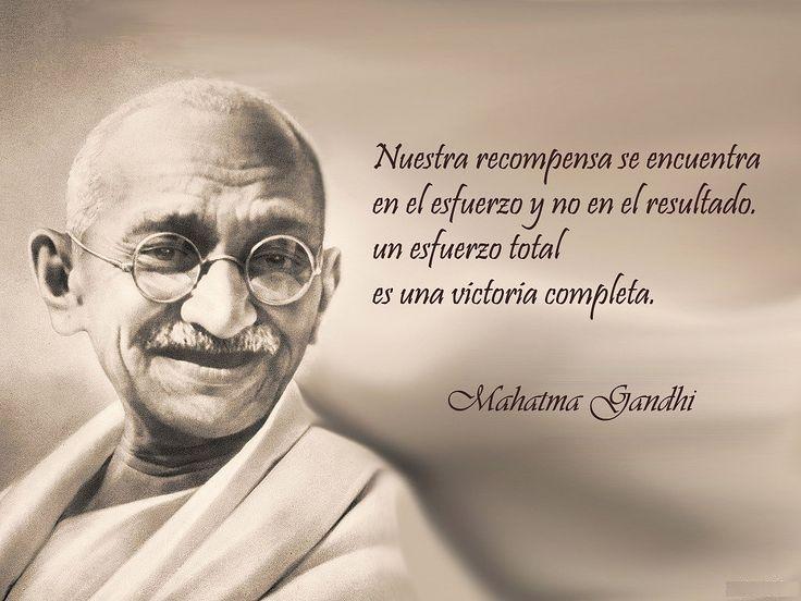 Gandhi Pensamientos Positivos Aquí Encontrarás Pensamientos