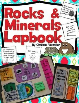 Rocks and Minerals Lapbook: Interactive Kit | TpT Science Lessons