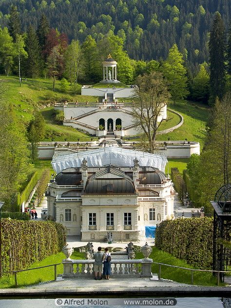 View Of Linderhof Castle Most Spectacular Castle We Saw In Germany European Castles European Vacation Castle