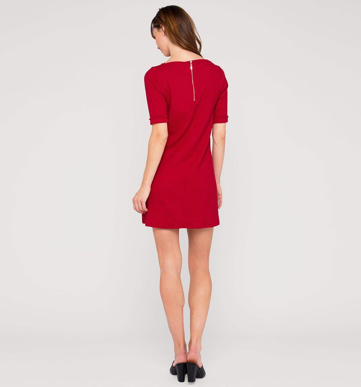 damen strickkleid in rot - mode günstig online kaufen - c&a