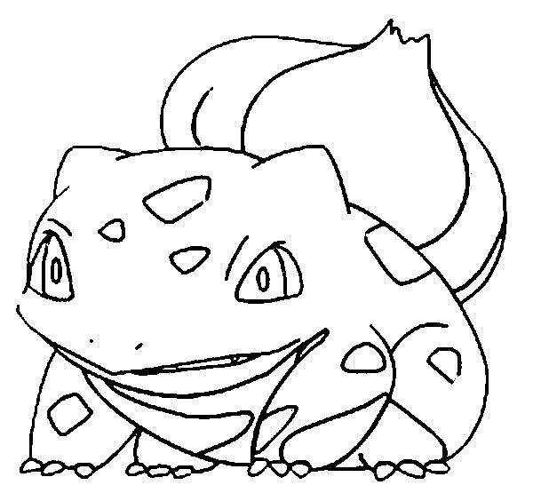 Bulbasaur Coloring Pages Pinterest Bulbasaur Pokmon and