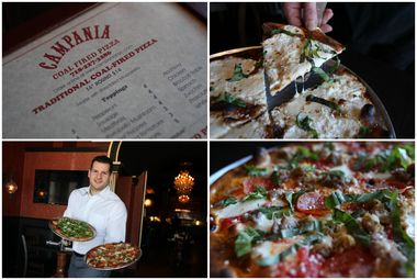 Campania Coal Fired Pizza Beat Out Borough Legends Deninos And Lees Tavern To Take Top 2015 Readers Choice Award Honors