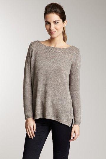 Vince Solid Linen Sweater on HauteLook