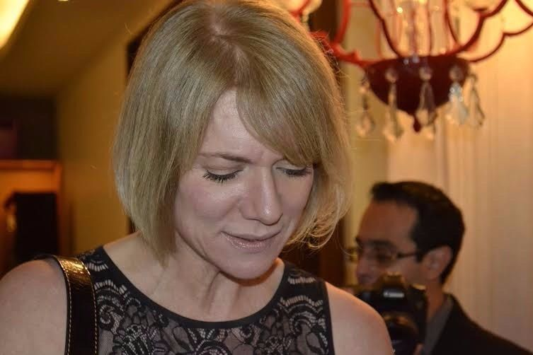 """Laura Wie, no lançamento das Porcelanas Schmidt - Linha """"Aquarela"""" Claudia Matarazzo, no La Casserole"""