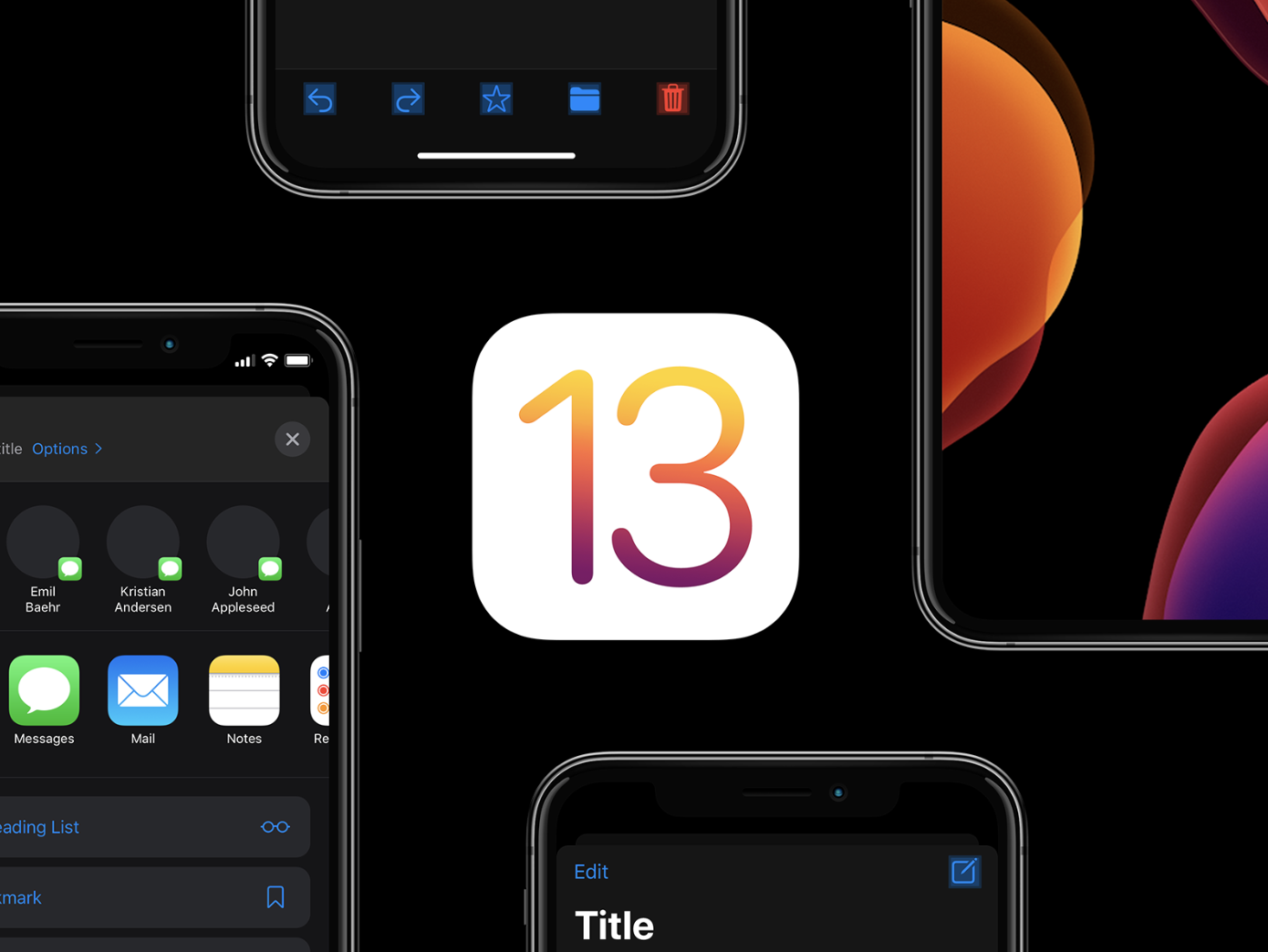 Designing for IOS13 Design, App design, Concept