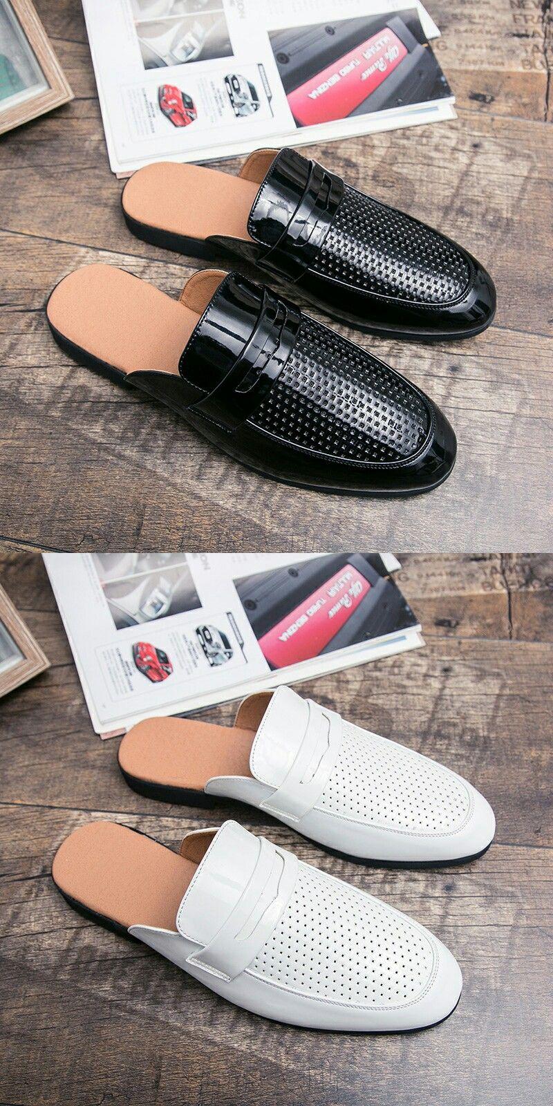 Vintage Men Driving Shoes Summer